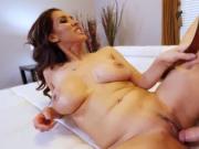 Milf self filmed masturbation She has him licking on he