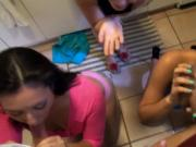 Teen party grows into orgy