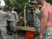 Gay military sex hardcore movie R&R, the Army69 way