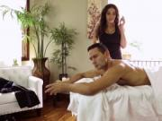 Tgirl Tori Mayes gets her juicy ass slammed by Gabriels