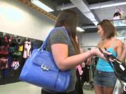 Shopping turns into fuck fest with shameless young slut