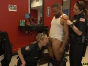 Super Hot Busty Brunette Cougar Cops Sucking And Fuckin