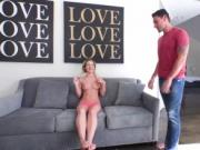 Pretty babe Bella Rose gets dominated and fucked by a h
