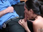 Hot cop threesome and sexy police xxx Habitual Theft