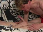 Masturbation video gay twinks Leo Takes A Face Fucking!