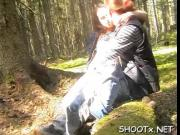 Homevideo with aroused couple