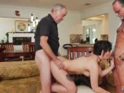 Teen throbbing She took turns on both of the fellas wit