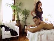 Stud Gabriel Alessandro bangs Tgirl Tori Mayes tight as