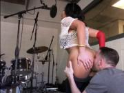 Selena Santana fucked in the recording studio