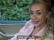 Blonde Vixen Katrin Tequila Blows Stranger For Cash