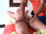 Hot bare anal sex video with beefcake gay dude and sexy