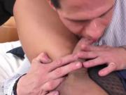 Red hot transgirl cop Juliana Nogueira fucked and jizze