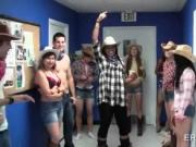 College cosplay sex party in dorm rooms