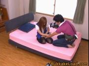 Steamy real asian hot babe Kokomi Naruse in pink pantie