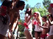 Kinky teens gather for a fuck