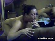 Mother Sucking On A Big Black Cock