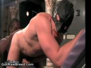 J.R. and Nate Storm in hot gay porn fucking and sucking