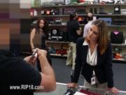 Hardcore voyeur copulate at public place