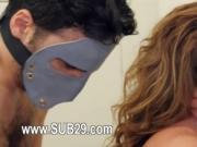 Extreme violently banged bdsm woman