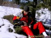 Boy gay sex dad tube Roma Smokes In The Snow