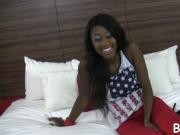 Ebony gal is satisfied to maximum