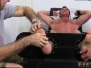 Black gay porn erotica xxx Connor Maguire Tickled Naked