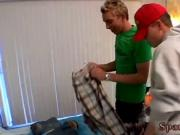 Green twinks sex video free and booty spanking gay porn