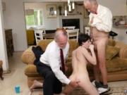 Horny old man jerking off She ends up plumbing both of