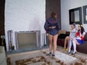 Blonde teen girls do porn xxx Cosplay Queens