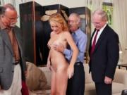 Old man loves licking pussy and german threesome Frannk