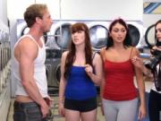 Wrestling orgy Laundry Day