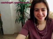 teen sleeping girlfriend Darla crane orgasm on webcam