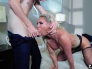 Phoenix Marie bends over and anal fucked