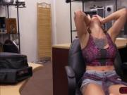 Tattooed Harley Harrison gets fucked in the office