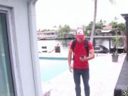 Wife fucks teen first time Poke Man Go!