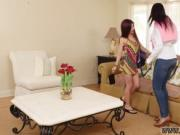 Japanese lesbian catfight Flunking Step Daughter Gets A