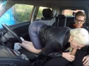 Carly Rae Summers screwed by pervert driving instructor
