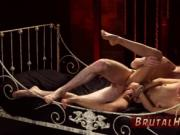 Brutal extreme gangbang and domination xxx Poor little