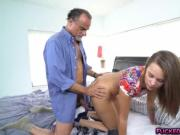 Horny Liza Rowe wants an old hard cock