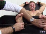Nude gay man feet and sock footed twinks tied up first