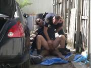 Naked black teen gay porn Serial Tagger gets caught in