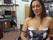 Sophie Leon strips off and gets fucked in the office