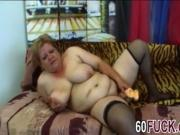 Bbw gilf Venuse gets pussy stretched by younger cock