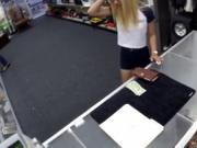 Giant tit blonde teen Paying dues to get that ring back