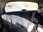 Babe Caroline Ardolino amazing cowgirl sex in the taxis
