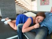 Hot teen redhead Maddy Oreilly gets pussy drilled good