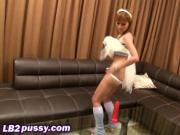Darling Emi savagely fingering toying her Asian lady bo