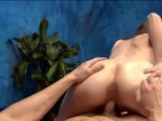Naughty babe gave a massage