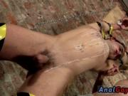 Free gay bondage porn movies Working his delicate fuck-