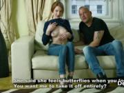 Redhead teen loses her virginity